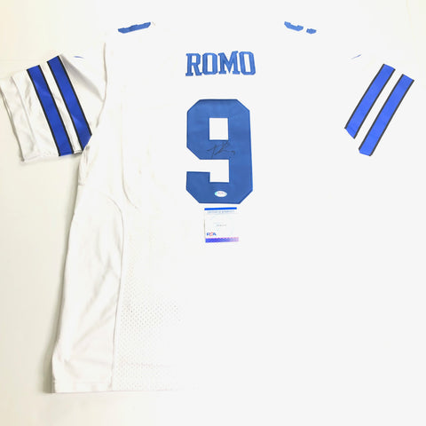 Tony Romo Signed Jersey PSA/DNA Dallas Cowboys Autographed