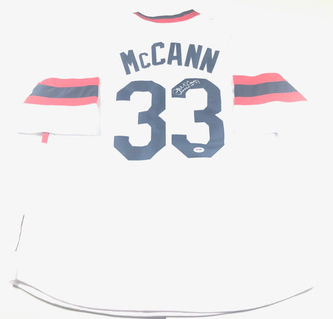 James McCann Signed Jersey PSA/DNA Chicago White Sox Autographed