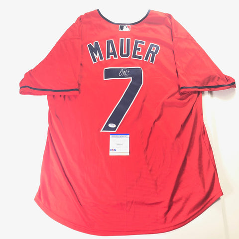 Joe Mauer Signed Jersey PSA/DNA Minnesota Twins Autographed