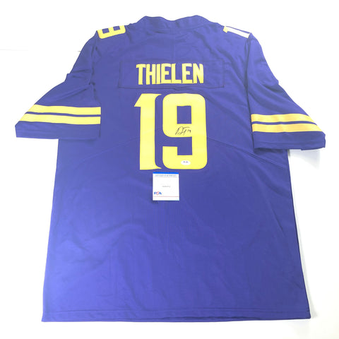 Adam Thielen signed Jersey PSA/DNA Minnesota Vikings Autographed