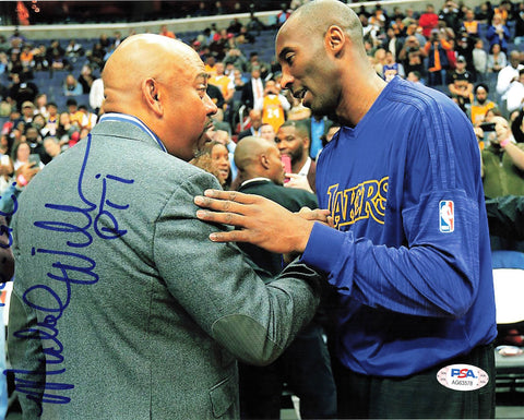Mike Wilbon signed 8x10 photo PSA/DNA Autographed Kobe Bryant
