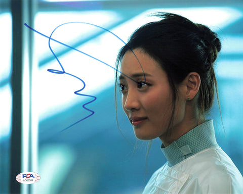 Claudia Kim signed 8x10 photo PSA/DNA Autographed Avengers
