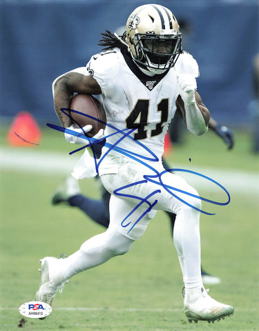 Alvin Kamara signed 8x10 photo PSA/DNA New Orleans Saints Autographed