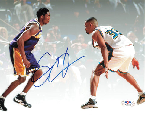 Grant Hill signed 8x10 photo PSA/DNA Pistons Autographed Kobe Bryant