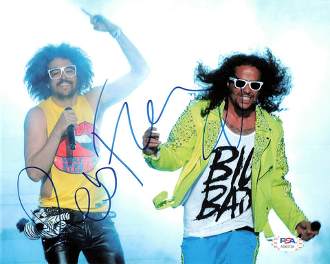 Redfoo signed 8x10 photo PSA/DNA Autographed Rapper
