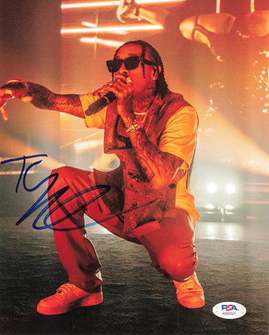 Tyga signed 8x10 photo PSA/DNA Autographed Rapper