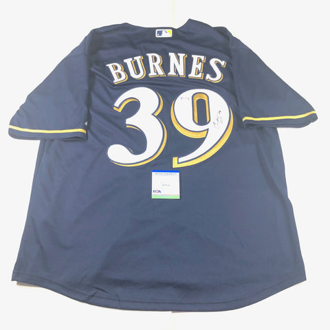 Corbin Burnes signed jersey PSA/DNA Milwaukee Brewers Autographed