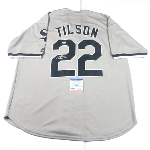 Charlie Tilson signed jersey PSA/DNA Chicago White Sox Autographed