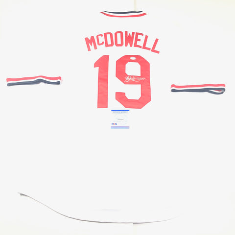 Jack McDowell signed jersey PSA/DNA Stanford Cardinals Autographed