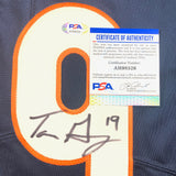 Tanner Gentry Signed Jersey PSA/DNA Chicago Bears Autographed