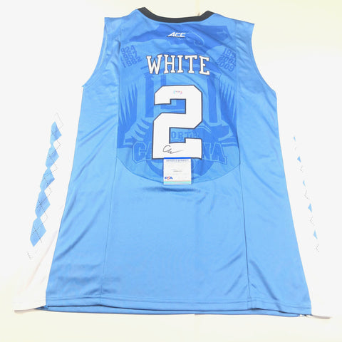 Coby White Signed Jersey PSA/DNA North Carolina Tar Heels