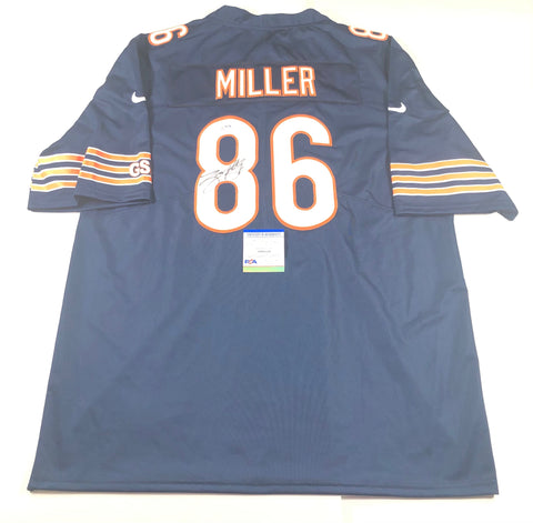 Zach Miller Signed Jersey PSA/DNA Chicago Bears Autographed