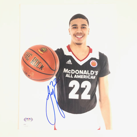 Jayson Tatum signed 11x14 Photo PSA/DNA JSA Boston Celtics Autographed