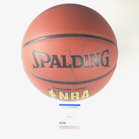 Reggie Miller signed Basketball PSA/DNA Indiana Pacers Autographed