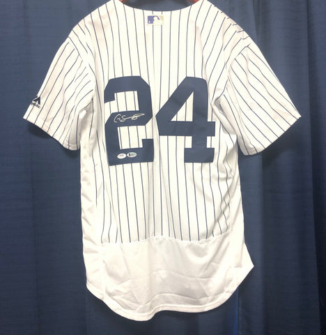 Gary Sanchez Signed Jersey PSA/DNA BAS Beckett New York Yankees Autographed