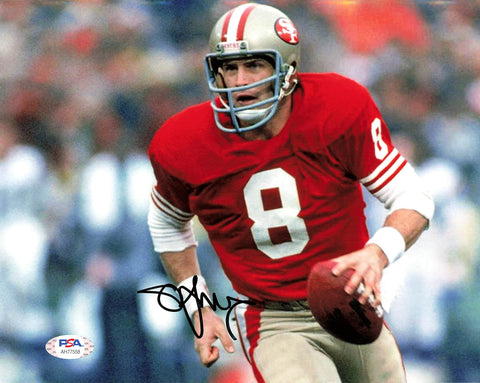 Steve Young signed 8x10 photo PSA/DNA San Francisco 49ers Autographed