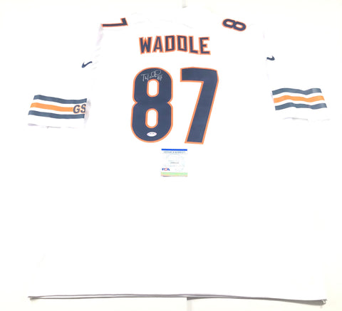 Tom Waddle Signed Jersey PSA/DNA Chicago Bears Autographed