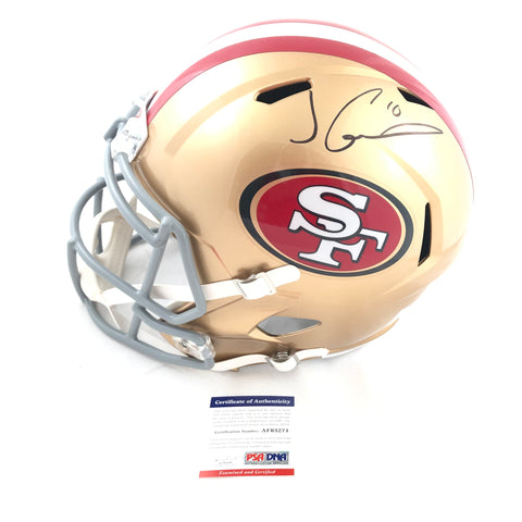 Jimmy Garoppolo Signed Full Size Helmet PSA/DNA San Francisco 49ers Autographed
