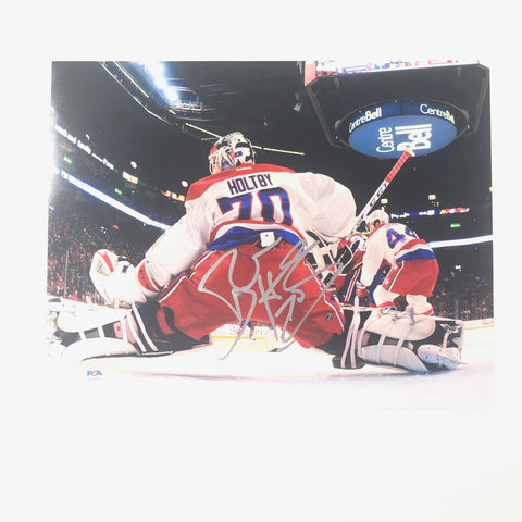 BRADEN HOLTBY signed 11x14 photo PSA/DNA Washington Capitals Autographed