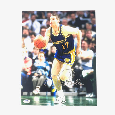 Chris Mullin signed 11x14 photo PSA/DNA Golden State Warriors Autographed