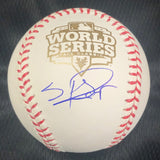 Sergio Romo signed 2012 WS baseball PSA/DNA San Francisco Giants autographed