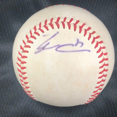 Tyler Collins signed baseball PSA/DNA Detroit Tigers autographed