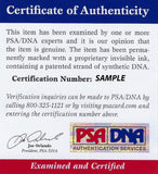 Dan Haren signed baseball PSA/DNA Oakland Athletics autographed inscribed