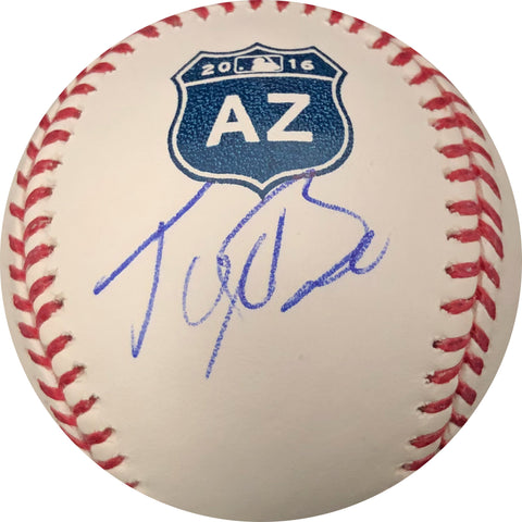 Tyler Beede Signed Baseball PSA/DNA San Francisco Giants autographed 2016 Spring Training