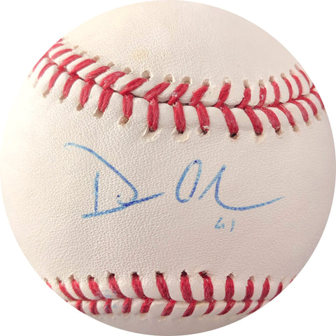 Dan Otero signed baseball PSA/DNA Cleveland Indians autographed