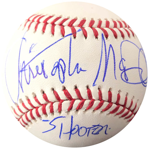 Christopher McDonald signed baseball PSA/DNA Autographed Chris Shooter McGavin