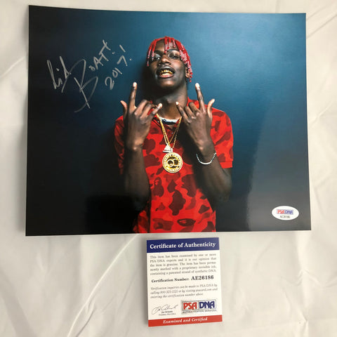 Lil Yachty signed 8X10 photo PSA/DNA autographed Rapper Boat