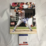 Albert Pujols signed 8x10 photo PSA/DNA Los Angeles Angels Autographed