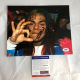 Tekashi 69 6IX9INE signed 8X10 photo PSA/DNA autographed Rapper Day69 Tekashi69