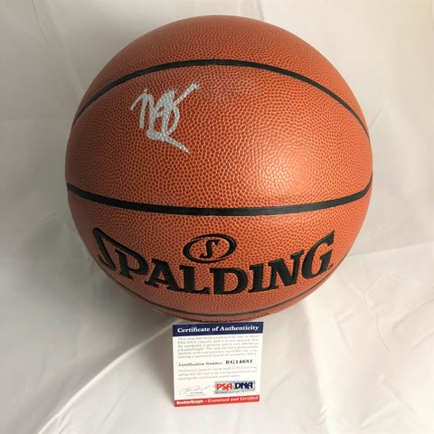 Marvin Bagley signed Basketball PSA/DNA Sacramento Kings autographed