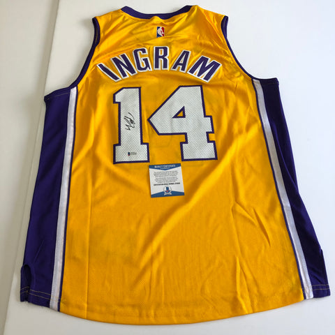 Brandon Ingram signed jersey BAS Beckett Los Angeles Lakers Autographed