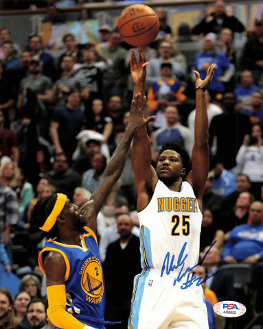 Malik Beasley signed 8x10 photo PSA/DNA Denver Nuggets Autographed