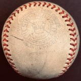 Lou Gehrig signed baseball PSA/DNA autographed 1937 Yankees Team ball