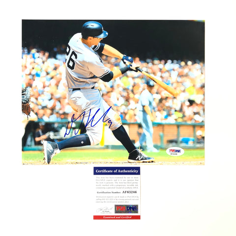 DJ Lemahieu signed 8x10 photo PSA/DNA New York Yankees Autographed