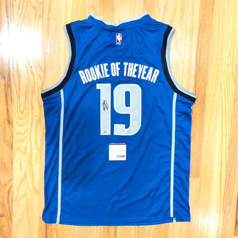 Luka Doncic signed jersey PSA/DNA Mavericks Autographed Rookie of the Year