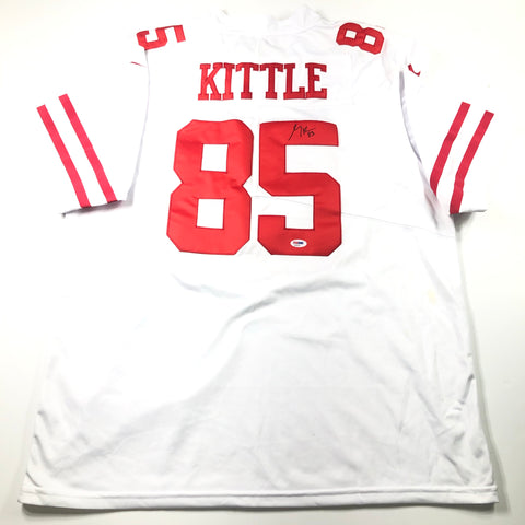 George Kittle signed jersey PSA/DNA San Francisco 49ers Autographed