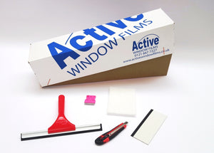 WINDOW FILM, FLAT GLASS, FITTING TOOL KIT BASIC