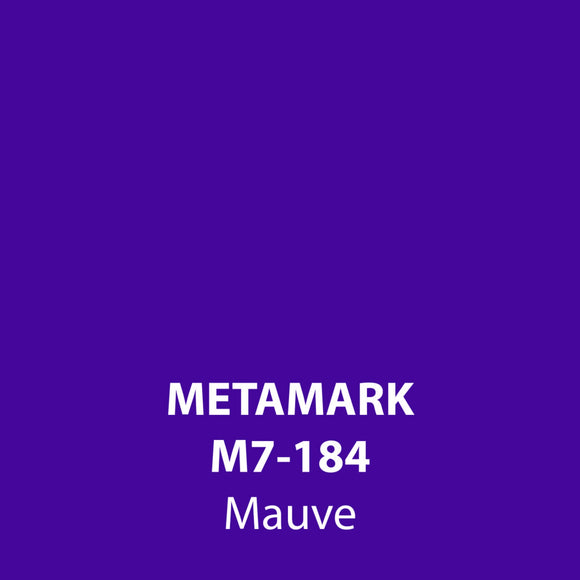 Mauve Gloss Vinyl M7-184, Metamark 7 Series, self-adhesive, sticky back polymeric sign making vinyl