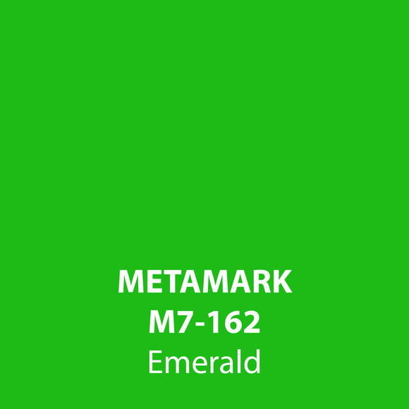 Emerald Gloss Vinyl M7-162, Metamark 7 Series, self-adhesive, sticky back polymeric sign making vinyl