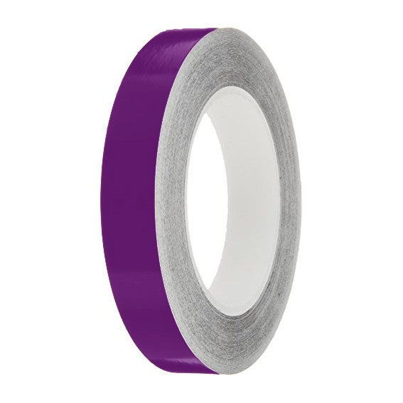 Mauve Gloss Colour Pin Stripe tapes, 50m roll, sticky self-adhesive, vinyl decal line tape