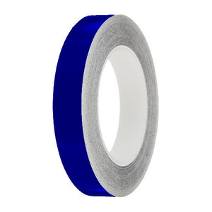Ultramarine Gloss Colour Pin Stripe tapes, 50m roll, sticky self-adhesive, vinyl decal line tape