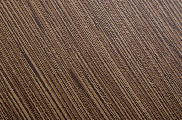 Cover Styl' - D3 Zebrano Wood Self Adhesive Sticker, Vinyl Window Wall Door Furniture Covering