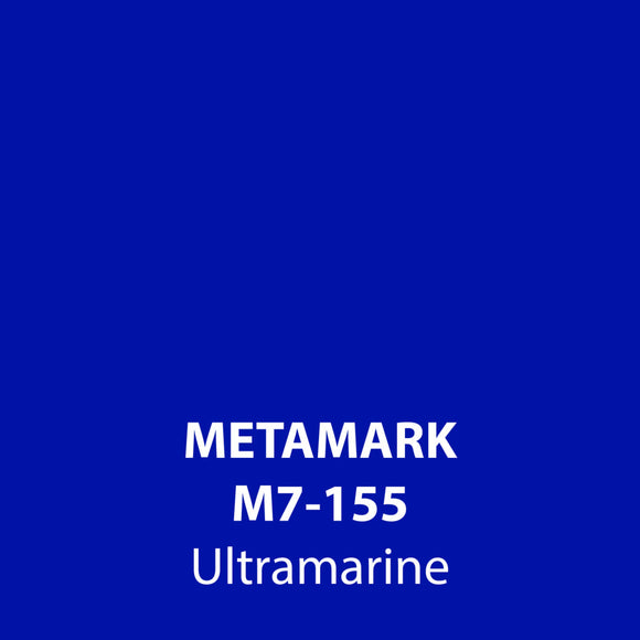 Ultramarine Gloss Vinyl M7-155, Metamark 7 Series, self-adhesive, sticky back polymeric sign making vinyl
