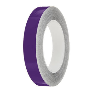 Violet Gloss Colour Pin Stripe tapes, 50m roll, sticky self-adhesive, vinyl decal line tape