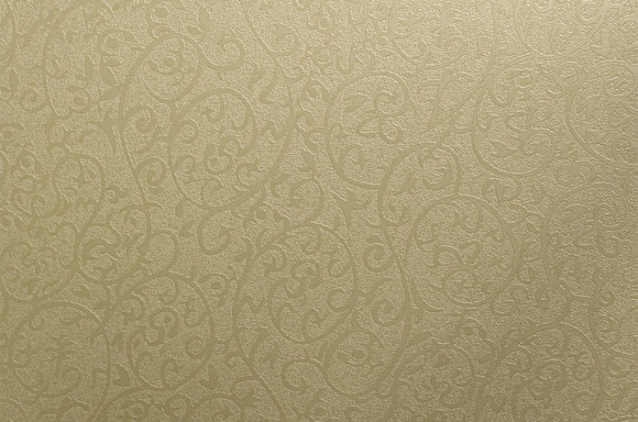 Cover Styl' - T5 Arabesque Gold Self Adhesive Sticker, Vinyl Window Wall Door Furniture Covering