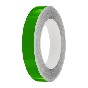 Grass Gloss Colour Pin Stripe tapes, 50m roll, sticky self-adhesive, vinyl decal line tape